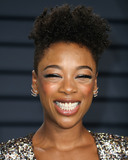 Samira Wiley Photo - BEVERLY HILLS LOS ANGELES CA USA - FEBRUARY 24 Samira Wiley arrives at the 2019 Vanity Fair Oscar Party held at the Wallis Annenberg Center for the Performing Arts on February 24 2019 in Beverly Hills Los Angeles California United States (Photo by Xavier CollinImage Press Agency)