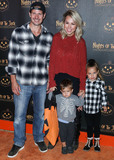Jessica Hall Photo - CALABASAS LOS ANGELES CALIFORNIA USA - OCTOBER 02 Kyle Carson and Jessica Hall arrive at Nights of the Jack Friends and Family Night 2019 held at King Gillette Ranch on October 2 2019 in Calabasas Los Angeles California United States (Photo by Xavier CollinImage Press Agency)