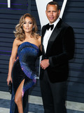 Wallis Annenberg Photo - (FILE) Jennifer Lopez and Alex Rodriguez Retain JPMorgan to Raise Money for Mets Bid Retired baseball star Alex Rodriguez and his fiance recording artist and actor Jennifer Lopez have retained JPMorgan Chase to raise capital for a possible bid on the New York Mets people familiar with the matter said BEVERLY HILLS LOS ANGELES CALIFORNIA USA - FEBRUARY 24 Singeractress Jennifer Lopez (wearing Zuhair Murad Couture) and boyfriendAmerican retired Baseball shortstop Alexander Rodriguez arrive at the 2019 Vanity Fair Oscar Party held at the Wallis Annenberg Center for the Performing Arts on February 24 2019 in Beverly Hills Los Angeles California United States (Photo by Xavier CollinImage Press Agency)