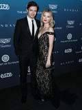 Ashley Hinshaw Photo - LOS ANGELES CA USA - JANUARY 05 Actor Topher Grace and wife Ashley Hinshaw Grace arrive at The Art Of Elysiums 12th Annual Heaven Gala held at a Private Venue on January 5 2019 in Los Angeles California United States (Photo by Xavier CollinImage Press Agency)