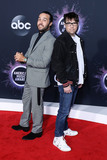 Pete Wentz Photo - LOS ANGELES CALIFORNIA USA - NOVEMBER 24 Pete Wentz and Rivers Cuomo arrive at the 2019 American Music Awards held at Microsoft Theatre LA Live on November 24 2019 in Los Angeles California United States (Photo by Xavier CollinImage Press Agency)