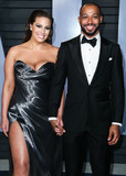 Ashley Graham Photo - (FILE) Ashley Graham pregnant with first child with husband Justin Ervin BEVERLY HILLS LOS ANGELES CALIFORNIA USA - MARCH 04 Model Ashley Graham and husbanddirector Justin Ervin arrive at the 2018 Vanity Fair Oscar Party held at the Wallis Annenberg Center for the Performing Arts on March 4 2018 in Beverly Hills Los Angeles California United States (Photo by Xavier CollinImage Press Agency)