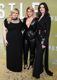 Rebel Wilson Photo - HOLLYWOOD LOS ANGELES CALIFORNIA USA - MAY 08 Rebel Wilson Meghan Trainor and Anne Hathaway arrive at the Los Angeles Premiere Of MGMs The Hustle held at ArcLight Cinerama Dome on May 8 2019 in Hollywood Los Angeles California United States (Photo by David AcostaImage Press Agency)