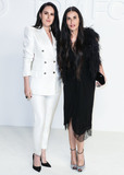 Demi Moore Photo - HOLLYWOOD LOS ANGELES CALIFORNIA USA - FEBRUARY 07 Rumer Willis and Demi Moore arrive at the Tom Ford AutumnWinter 2020 Fashion Show held at Milk Studios on February 7 2020 in Hollywood Los Angeles California United States (Photo by Xavier CollinImage Press Agency)