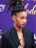 Willow Smith Photo - HOLLYWOOD LOS ANGELES CALIFORNIA USA - MAY 21 Singer Willow Smith arrives at the World Premiere Of Disneys Aladdin held at the El Capitan Theatre on May 21 2019 in Hollywood Los Angeles California United States (Photo by Xavier CollinImage Press Agency)