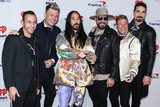 Nick Carter Photo - LAS VEGAS NEVADA USA - SEPTEMBER 20 Howie Dorough Nick Carter Steve Aoki AJ McLean Brian Littrell and Kevin Richardson of Backstreet Boys arrive at the 2019 iHeartRadio Music Festival - Night 1 held at T-Mobile Arena on September 20 2019 in Las Vegas Nevada United States (Photo by David AcostaImage Press Agency)