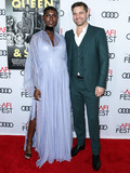 TCL Chinese Theatre Photo - (FILE) Joshua Jackson and Wife Jodie Turner-Smith Welcome a Daughter HOLLYWOOD LOS ANGELES CALIFORNIA USA - NOVEMBER 14 Actress Jodie Turner-Smith and boyfriendactor Joshua Jackson arrive at the AFI FEST 2019 - Opening Night Gala - Premiere Of Universal Pictures Queen And Slim held at the TCL Chinese Theatre IMAX on November 14 2019 in Hollywood Los Angeles California United States (Photo by Xavier CollinImage Press Agency)