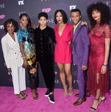 Charlayne Woodard Photo - WEST HOLLYWOOD LOS ANGELES CALIFORNIA USA - AUGUST 09 Charlayne Woodard Angelica Ross Angel Bismark Curiel Mj Rodriguez Dyllon Burnside and Indya Moore arrive at the Red Carpet Event For FXs Pose held at the Pacific Design Center on August 9 2019 in West Hollywood Los Angeles California United States (Photo by Image Press Agency)