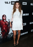 Nadia Hilker Photo - LOS ANGELES CA USA - SEPTEMBER 27 Nadia Hilker at the Los Angeles Premiere Of AMCs The Walking Dead Season 9 held at the Directors Guild of America Theater Complex on September 27 2018 in Los Angeles California United States (Photo by Xavier CollinImage Press Agency)