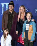 Ashlee Simpson Photo - HOLLYWOOD LOS ANGELES CALIFORNIA USA - NOVEMBER 07 Jagger Snow Ross Evan Ross Ashlee Simpson and Bronx Wentz arrive at the World Premiere Of Disneys Frozen 2 held at the Dolby Theatre on November 7 2019 in Hollywood Los Angeles California United States (Photo by Xavier CollinImage Press Agency)
