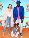 Lance Gross Photo - LOS ANGELES CA USA - MARCH 23 Rebecca Jefferson Berkeley Brynn Gross and Lance Gross arrive at Nickelodeons 2019 Kids Choice Awards held at the USC Galen Center on March 23 2019 in Los Angeles California United States (Photo by Xavier CollinImage Press Agency)