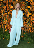 Alice  Olivia Photo - PACIFIC PALISADES LOS ANGELES CA USA - OCTOBER 06 Actress Olivia Wilde wearing an Alice  Olivia suit and Foundrae jewelry arrives at the 9th Annual Veuve Clicquot Polo Classic Los Angeles held at Will Rogers State Historic Park on October 6 2018 in Pacific Palisades Los Angeles California United States (Photo by Xavier CollinImage Press Agency)