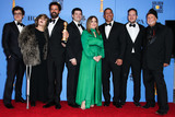 Chris Miller Photo - BEVERLY HILLS LOS ANGELES CA USA - JANUARY 06 Phil Lord Amy Pascal Robert Persichetti Jr Chris Miller Christina Steinberg Peter Ramsey Rodney Rothman and Avi Arad pose in the press room at the 76th Annual Golden Globe Awards held at The Beverly Hilton Hotel on January 6 2019 in Beverly Hills Los Angeles California United States (Xavier CollinImage Press Agency)