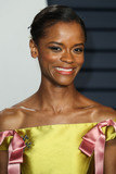 Nicholas Kirkwood Photo - BEVERLY HILLS LOS ANGELES CA USA - FEBRUARY 24 Actress Letitia Wright wearing an Erdem dress and Nicholas Kirkwood heels arrives at the 2019 Vanity Fair Oscar Party held at the Wallis Annenberg Center for the Performing Arts on February 24 2019 in Beverly Hills Los Angeles California United States (Photo by Xavier CollinImage Press Agency)