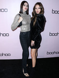 Amelia Gray Photo - WEST HOLLYWOOD LOS ANGELES CALIFORNIA USA - NOVEMBER 07 Modelssisters Amelia Gray Hamlin and Delilah Belle Hamlin arrive at the boohoo x All That Glitters Launch Party held at Nightingale Plaza on November 7 2019 in West Hollywood Los Angeles California United States (Photo by Xavier CollinImage Press Agency)