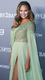 Chrissy Teigen Photo - CULVER CITY LOS ANGELES CALIFORNIA USA - NOVEMBER 09 Model Chrissy Teigen wearing a Georges Hobeika dress arrives at the 2019 Baby2Baby Gala held at 3Labs on November 9 2019 in Culver City Los Angeles California United States (Photo by Xavier CollinImage Press Agency)
