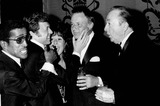 Steve Lawrence Photo - Frank Sinatra with Sammy Daivs Jr  Steve Lawrences and Jack Haley in Hollywood 10-13-1973 Photo by Smp-Globe Photos Inc