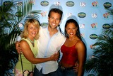 Alicia Calaway Photo - Survivor Contest Where One of the Survivor Castaways Will Win an Additional 1000000 Madison Square Garden New York City 05132004 Photo Rick Mackler  Rangefinders  Globe Photos Inc 2004 Alicia Calaway Colby Donaldson and Kathy Vavrick-obrien