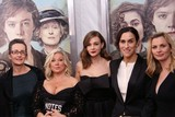 Alison Owen Photo - Dr Helen Pankhurst Alison Owen Carey Mulligan  Sarah Gavron and Faye Ward Attend the New York Premiere of Focus Features Suffragette the Paris Theater NYC October 12 2015 Photos by Sonia Moskowitz Globe Photos Inc