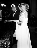 Yul Brynner Photo - Academy Awards  Oscars (51st) Yul Brynner with His Daughter and Mia Farrow 1979 3290 Nate CutlerGlobe Photos Inc