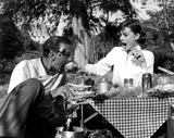 Gary Cooper Photo - Audrey Hepburn and and Gary Cooper in Love in the Afternoon 1957 Supplied by IpolGlobe Photos Inc Audreyhepburnretro