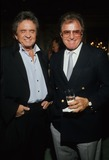 Johnny Cash Photo - Vince Edwards with Johnny Cash 1988 F6004 Photo by Bob V Noble-Globe Photos Inc