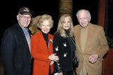 Sidney Sheldon Photo - Arthur and Patty Newman with Sidney Sheldon and Wife Alexandra at Sidney Sheldons 88th Birthday Party at the Camelot Theater in Palm Springs CA 2-10-2005 Photo Byned Redway-Globe Photos Inc 2005