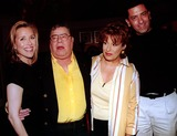 Anthony Lewis Photo - Abcs the View Post Taping at the Abc Studios New York City 06042003 Photo Barry TalesnickipolGlobe Photos Inc 2003 Joy Behar Anthony Lewisjerry Lewis and Meredith Vieira