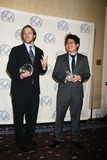 Steve Chen Photo - 19th Annual Producers Guild Awards - Pressroom Beverly Hilton Hotel Beverly Hills CA 020208 Chad Hurley and Steve Chen - Youtube Founders Photo Clinton H Wallace-photomundo-Globe Photos Inc