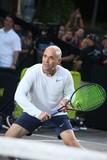 Andre Agassi Photo - Andre Agassi attends Nike NYC Street Tennis Event Washington Street NYC August 24 2015 Photos by Sonia Moskowitz Globe Photos Inc