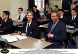 Robert Powell Photo - M036001 150499 ManchesterThe Prince of Wales during a visit to Manchester Grammar Schoolwhen he learnt about how the school whose former pupils include ex-England cricket captain Michael Athertonand actor Robert Powell is building links with a nearby inner city comprehensiveHe also let slip a swear word when he told pupils that he was referred to as the Pommy bastardwhen he spent time in Australia as a 16-year-old