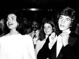 Jacqueline Kennedy Onassis Photo - Jacqueline Kennedy Onassis with Children Caroline Kennedy and John F Kennedy Jr Paul SchmulbachGlobe Photos Inc
