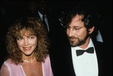Amy Irving Photo - Amy Irving Steven Spielberg 1986 F3010 Supplied by Globe Photos Inc