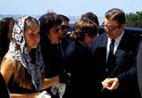 Sharon Tate Photo - Sharon Tate Funeral Roman Polanski (Center) Photo ByGlobe Photos Inc