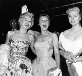 Eva Gabor Photo - Eva Gabor with June Allyson and Martha Hyer Supplied by Globe Photos Inc