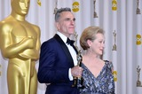 Daniel Day-Lewis Photo - Daniel Day-lewis and Presenter Maryl Streep Winner Best Actor in a Leading Role 85th Academy Awards  Oscars Dolby Theatre Hollywood CA February 24 2013 Roger Harvey Photo by Roger Harvey- Globe Photos Inc