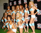 Traci Bingham Photo - - Angie Everhart Nikki Ziering and Traci Bingham Unveils Plans For Lingerie Bowl 2004 - Quixote Studios West Hollywood CA - 06252003 - Photo by Jonathan Friolo  Globe Photos Inc 2003 - Lingerie Bowl Models