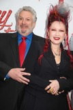 Al Hirschfeld Photo - Kinky Boots Opening Night on Broadway Al Hirschfeld Theater NYC April 4 2013 Photos by Sonia Moskowitz Globe Photos Inc 2013 Harvey Fierstein Cyndi Lauper