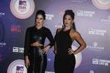 The Bella Twins Photo - Brianna Danielson (L) and Nicole Garcia-colace Aka the Bella Twins Attend the 20th Mtv Emas in Glasgow Uk on 09 November 2014 Photo Alec Michael Photo by Alec Michael- Globe Photos Inc