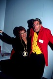 Tammy Faye Messner Photo -  12396 the Napte Convention 1996 Tammy Faye Messner (Bakker) with Jim J Bullock Photo by Ed GellerGlobe Photos Inc