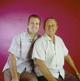 Art Linkletter Photo - Art Linkletter with Son Arthur Jack Linkletter Artlinkletterretro Supplied by Globe Photos Inc