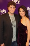 Ming-Na Wen Photo - 2010 Syfy Upfront Party at the Museum of Modern Art New York City 03-16-2010 Photo by Barry Talesnick -ipol-Globe Photos Inc 2010 David Blue and Ming Na Wen