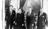 Alexander Haig Photo - President Ronald Reagan Margaret Thatcher Alexander Haige Francis Pym Supplied by Globe Photos Inc