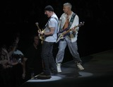 Adam Clayton Photo - The Edgeadam Clayton of U2 at U2 Concert at New Meadowlands Stadium NJ 7-20-2011 Photo by John BarrettGlobe Photos Inc