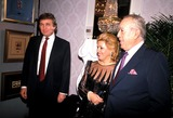 Anthony Quinn Photo - Donald Trump with Anthony and Mrs Quinn Photo John Barrett  Globe Photos Inc 1989 Donaldtrumpretro