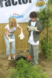 Adam Lamberg Photo - Sd0427 Cast of Lizzie Mcguire Refurbish Grounds of Boys  Girls Club of Burnank the Boys  Girls Club of America Burbank CA Adam Lamberg  Hilary Duff Planting Photo Tom Rodriiguez  Globe Photos Inc (C)