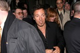 Bruce Springsteen Photo - Leaving the 19th Annual Rock and Roll Hall of Fame Foundations Induction Ceremony at the Waldorf Astoria Hotel in New York City 3152004 Photo by Rick MacklerrangefinderGlobe Photos Inc 2004 Bruce Springsteen and Wife Patti