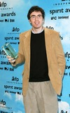 Andrew Bujalski Photo - Andrew Bujalski Wins For Funny Ha Ha - 2004 Independent Spirit Awards - Press Room - Santa Monica Beach CA - 02282004 - Photo by Nina PrommerGlobe Photos Inc2004
