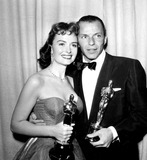 Donna Reed Photo - 26th Academy Awards Frank Sinatra and Donna Reed Won Oscars For Their Supporting Roles in From Here to Eternity Globe Photosinc