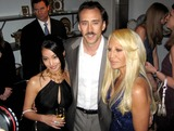 Alice Kim Photo - Versace Boutique Re-opening Party in Their Vip Room at 647 5th Ave New Yirk City 02-07-06 Photo by Jbarrett-allen-Globe Photoinc Nicolas Cage and Wife Alice Kim and Donatella Versace